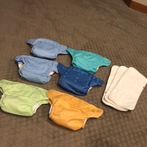 BumGenius Cloth Diapers Freetime all in one Lot
